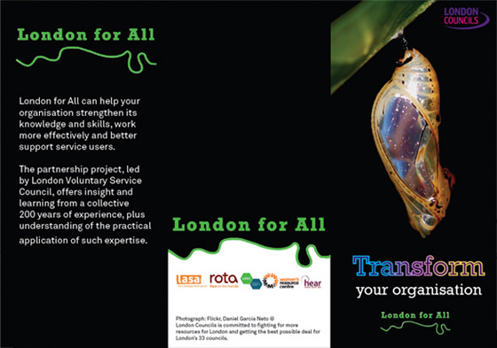 London for All flyer