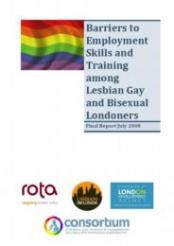 Barriers to Employment Skills and Training among Lesbian Gay and Bisexual Londoners cover