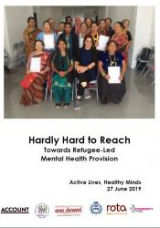 Hardly Hard to Reach Towards Refugee-Led Mental Health Provision