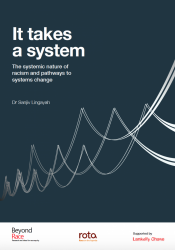 It takes a system: The systemic nature of racism and pathways to systems change