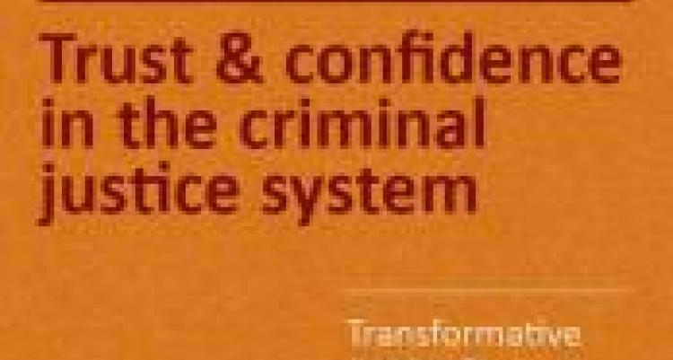 trust and confidence in the criminal justice system cover